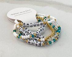 Dash And Dot, Candy Art, Crystal Bracelets, Bracelets For Men, Bracelet Set, Jewelery, Custom Design, Beads, Crystals