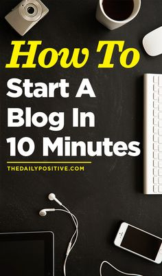 This is the best way to start your own blog!