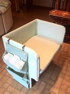 If we have another child.. I will need this..Homemade Co Sleeper