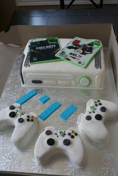 Playstation Cake  Pinteres - Cake birthday games