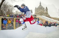 As Red Bull Crashed Ice returns to St. Paul's Cathedral Hill this week for three days of hair-raising downhill racing spectacle!  News and photo from:TwinCities.com