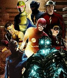 Speedsters of the Flash