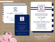 Nautical Collection, invites