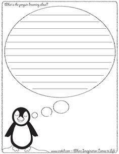 What is the penguin dreaming about? ~ Winter Theme ~ Snow ~ Snowflake ~ Snowman ~ Winter ~ Reindeer ~ Sleigh ~ Story Starters ~ Story Stones ~ Writing Prompts ~ Drawing Prompts ~ Preschool ~ Kindergarten ~ First Grade ~ 2nd Grade ~ 3rd Grade ~ Homeschool ~ Creativity ~ Sentence Starters ~ Creativity ~ Imagination ~ First Grade ~ Second Grade ~ Third Grade ~ Christmas