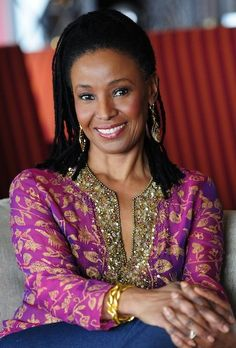 """B. Smith ~ 64 - a real class act. Has always been my """"Shero"""" followed every thing she did and said back in the day..."""