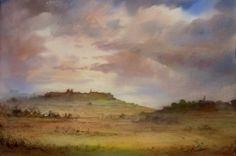 John Martin, English Countryside, Watercolours, Paintings, Landscape, Scenery, Paint, Painting Art