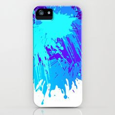 Splashs I iPhone & iPod Case by Rain Carnival - $35.00 #iphone #samsung #mobile #case #skin #splash #mint