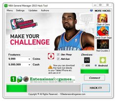 NBA General Manager 2015 Hack, add Unlimited Coins Cash -