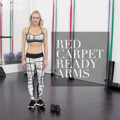 Here, we show you the best fitness moves to get red carpet ready arms.