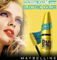 Get yourself some of the new Maybelline Colour Shock mascara, it's fabulous!