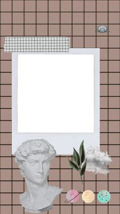 Whats Wallpaper, Framed Wallpaper, Cute Wallpaper Backgrounds, Picture Templates, Photo Collage Template, Aesthetic Pastel Wallpaper, Aesthetic Wallpapers, Foto Cartoon, Polaroid Picture Frame