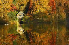Boathouse - Winkworth Arboretum, Godalming, Surrey