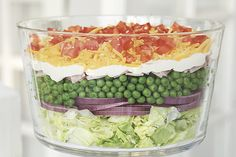 My aunt always made layered salad!  classic-layered-salad-106311 Image 1