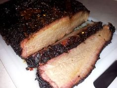"""Brisket - """"The flavor of the smoke is awesome"""" @allthecooks #recipe"""