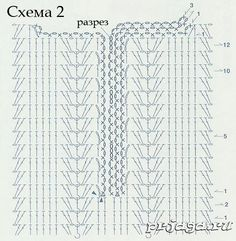Вязаный сарафан схемы