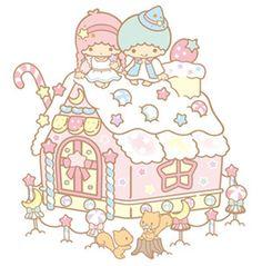 Cute & Kawaii Sanrio Little Twin Stars Kiki & Lala Sweet Pastel House