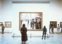 Art Institute of Chicago II, Chicago, Thomas Struth (b. Chromogenic print, 184 x 219 cm. The Art Institute of Chicago, restricted gift of Lewis Manilow. Chicago Ii, Chicago Museums, Muse Kunst, Muse Art, Art Institute Of Chicago, Renoir, Illustrations, My Kind Of Town, Les Oeuvres