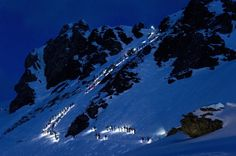 Patrouille des Glaciers, Valais, Suisse 2012