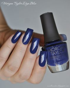 nailbamboo: Morgan Taylor Deja Blue