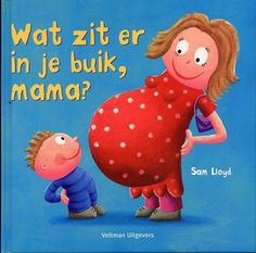 """Digitaal prentenboek """"Wat zit er in je buik mama?"""" familie, baby"""