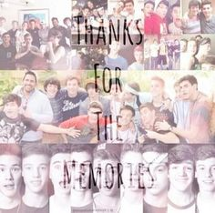 Thank you for the memories! You guys have literally changed my life forever. Thank you! ILYSM