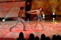 "Top 10 contestant Cyrus Spencer and all-star dancer Jaimie Goodwin perform a Contemporary routine to ""Outro"" choreographed by Travis Wall on SO YOU THINK YOU CAN DANCE."