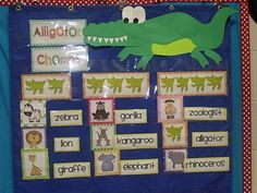 """counting syllables by """"alligator chomps"""" . . maybe change to bear chomps and use all year long!"""