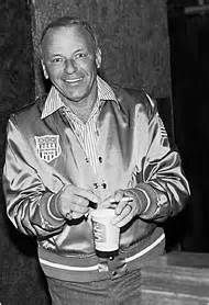 1970's Frank Sinatra ready to record.