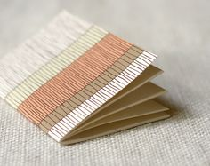 Jotter Pocket Notebook Mini Journal  Liney by witandwhistle, $5.75