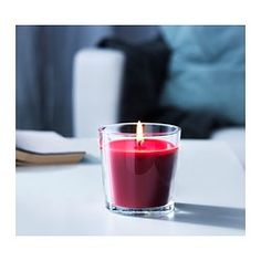 SINNLIG Scented candle in glass - IKEA