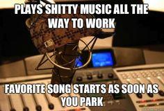 Example of why I hate traditional radio - Scumbag Radio Station