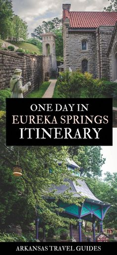 Ultimate Eureka Springs Travel Guide : The Prettiest Town In The Ozarks Eureka Springs Arkansas Travel Guide. Plus, things to do if you have one day in Eureka Springs (where to shop in Eureka Springs, Eureka Springs Arkansas, Cool Places To Visit, Places To Travel, Places To Go, Travel Destinations, Travel Things, Solo Travel, Travel Usa, Spain Travel