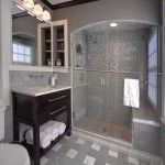 Elegant Grey Decoration in Eclectic Bathrooms - Modern Bathroom Designing in Small Budget