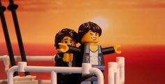 Titanic | 13 Classic Film Scenes Meticulously Recreated In Lego