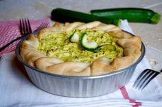 Torta Salata Ricotta, Zucchine e Tonno