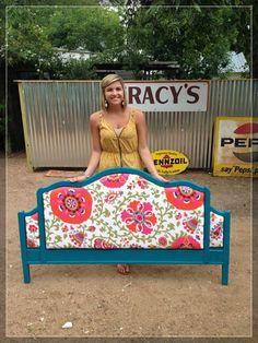 @Jennifer Milsaps Titus Earles  54 DIY Headboard Ideas to Make Your Dream Bedroom - Snappy Pixels