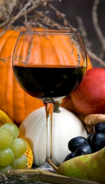 Happy First Day of Fall!  Red Wine and Autumn- Perfect together!