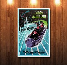 Disneyland Space Mountain 0012