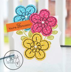 """""""Flower Fest"""" and Top Note Stampin Up"""