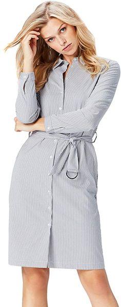 find Damen Hemdkleid aus Spitze Marke