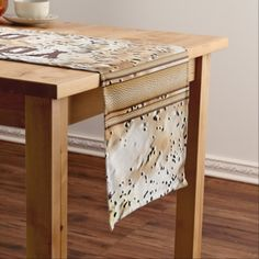 Personalized Rustic Table Runner.  Cool rustic man cave party.   CLICK: http://www.zazzle.com/z/3er96   We will design and have many rustic part supplies for men and great for rustic home décor or table decorations.  Call zazzle designer Linda or Rod.  239-949-9090  http://www.zazzle.com/yoursportsgifts