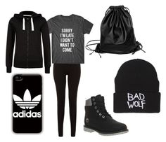 """""""wattpad series ~ Roxy's school outfit no. 3"""" by tiaaskem on Polyvore featuring Timberland, Xenab Lone and adidas"""