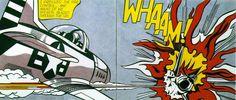 Roy Lichtenstein's 1963 WHAAM!  Just love it...
