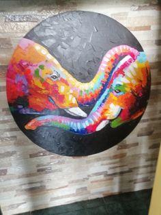 Obras modernas circulares en espatulados Painting, Circle Art, Modern Paintings, Artworks, Art Production, Painting Art, Paintings, Painted Canvas, Drawings