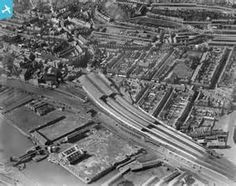 View of High Street Railway Station, Swansea, oblique aerial view. 5 ...