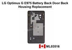 Optimus G Battery Door Back Cover Housing Lg Parts, Power Strip, Glass Door, Doors, Cover, Backen, Blankets, Doorway, Gate