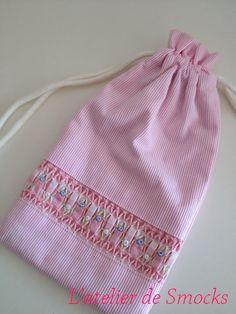 ル・パピヨンのサマードレス~幸福な刺繍?!♪の画像   スモッキング刺繍教室 スモッキング・コルベイユ 新宿・恵比寿