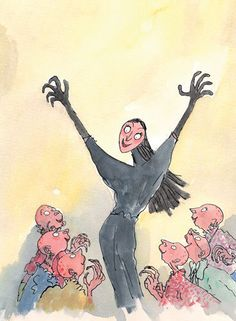 Roald Dahl - The Witches by Quentin Blake