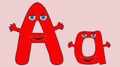 We are the Alphabet.  A great video for kids to sing along too. Simple and easy to remember.