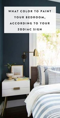 The best bedroom color for you is written in the stars. — via @PureWow